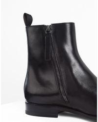 Jil Sander - Black Ankle Boots - Lyst