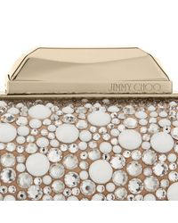 Jimmy Choo - White Cloud Clutch Bag  - Lyst