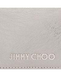 Jimmy Choo - Metallic Marlie Clutch Bag - Lyst