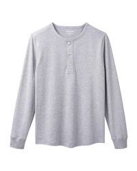 Joe Fresh - Gray Men's Essential Henley Tee for Men - Lyst