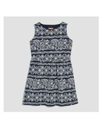 Joe Fresh - Blue Women+ Print Sleeveless Dress - Lyst