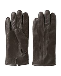 Joe Fresh - Brown Men's Leather Gloves for Men - Lyst