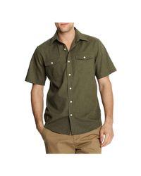 Joe Fresh - Green Men's Safari Shirt for Men - Lyst