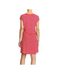 Joe Fresh - Pink Stripe Drawstring Dress - Lyst