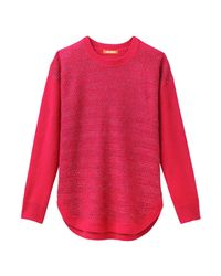 Joe Fresh - Red Women+ Sparkle Novelty Sweater - Lyst