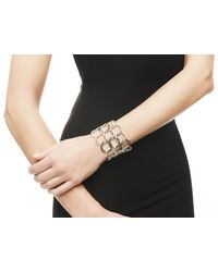 John Hardy - Classic Chain Open Link Bracelet With Black Sapphire - Lyst