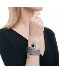 John Hardy | Black Cobra Double Coil Bracelet With Gemstone | Lyst