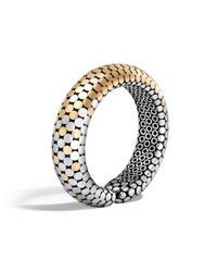 John Hardy - Metallic Dot Cuff - Lyst