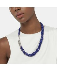 John Hardy - Naga Necklace With Lapis Lazuli, Blue Sapphire - Lyst