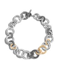 John Hardy - Metallic Classic Chain Hammered Link Necklace - Lyst