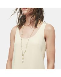 John Hardy - Naga Station Necklace With Pearl, White Moonstone - Lyst