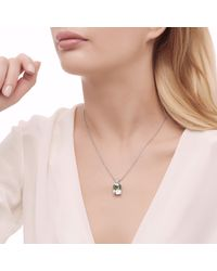 John Hardy - Multicolor Magic Cut Pendant Necklace With Green Amethyst And Diamonds - Lyst