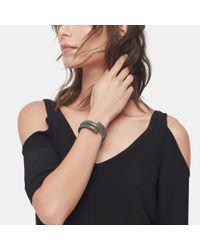 John Hardy | Double Coil Bracelet In Black Enamel | Lyst