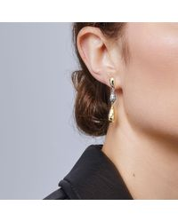 John Hardy - Metallic Classic Chain Hammered Drop Earring - Lyst