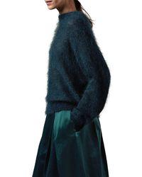 Toast - Blue Dolman Knit Jumper - Lyst