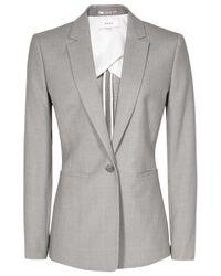 Reiss | Gray Kent Tailored Jacket | Lyst