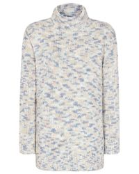 Reiss | Multicolor Lola Cable Knit Jumper | Lyst