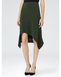 Reiss - Multicolor Autumn Cutaway Front Skirt - Lyst