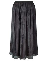 Jigsaw | Multicolor Pleated Iridescent Midi Skirt | Lyst