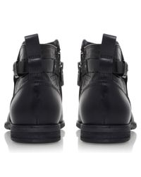 UGG - Black Demi Croc Ankle Boots - Lyst