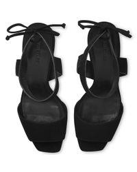 Whistles - Black Delphia Stiletto Heeled Sandals - Lyst