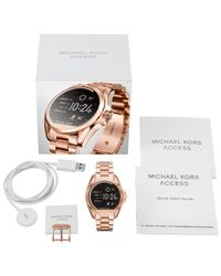 Michael Kors - Multicolor Access Women's Bradshaw Bracelet Strap Touchscreen Smartwatch - Lyst