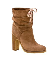 See By Chloé - Brown Jona Block Heeled Ankle Boots - Lyst
