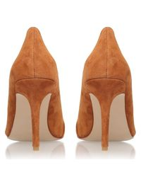 Carvela Kurt Geiger   Brown Able High Heeled Stiletto Court Shoes   Lyst