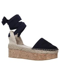 Carvela Kurt Geiger - Black Kupcake High Wedge Heel Sandals - Lyst