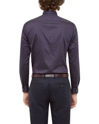 Ted Baker - Blue Lenons Geo Print Shirt for Men - Lyst