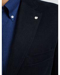 GANT | Blue Casual Twill Blazer for Men | Lyst