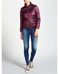 Calvin Klein | Purple Oralie Reversible Padded Jacket | Lyst