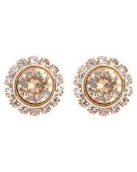 Ted Baker - Metallic Sully Swarovski Crystal Stud Earrings - Lyst