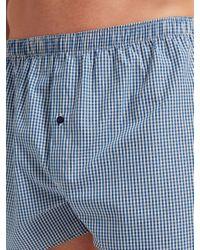 John Lewis - Blue Multi Pattern Woven Cotton Boxers for Men - Lyst