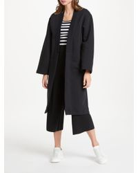 John Lewis - Black Patternity + Easy Knitted Culottes - Lyst