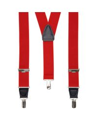 John Lewis - Red Wide Braces for Men - Lyst
