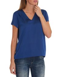 Betty & Co. - Blue Oversized Top - Lyst