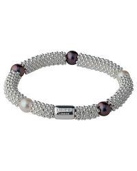 Links of London - Black Effervescence Star Pearl Bracelet - Lyst