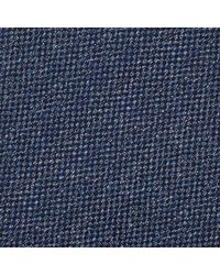 Reiss - Blue Ceremony Text Tie for Men - Lyst