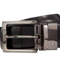 Ted Baker - Black Crafti Smart Leather Reversible Belt for Men - Lyst