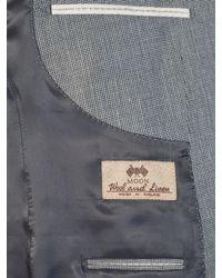 John Lewis - Blue Whitehorn Wool Linen Basketweave Tailored Suit Jacket for Men - Lyst