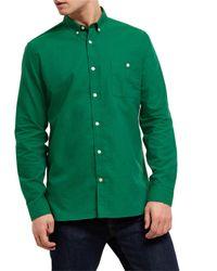 Jaeger | Green Soft Touch Oxford Shirt for Men | Lyst