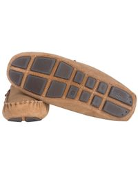 Barbour - Brown Monty Slippers for Men - Lyst