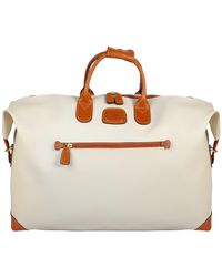 Bric's - Natural Firenze Small Holdall for Men - Lyst