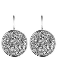 Dyrberg/Kern - Metallic Dyrberg/kern Desira Crystal Disc Drop Earrings - Lyst