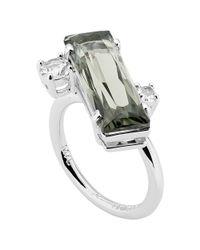Ted Baker - Metallic Brijit Crystal Ring - Lyst
