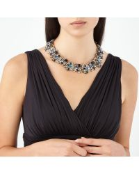 John Lewis - Multicolor Multi Stone Statement Collar Necklace - Lyst