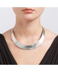 John Lewis - Metallic Brushed Torque Collar Necklace - Lyst