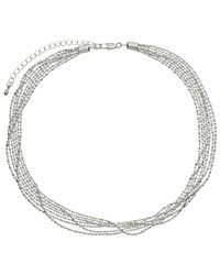 John Lewis | Metallic Layered Fine Chain Necklace | Lyst