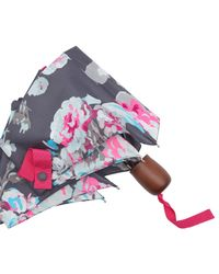 Joules - Multicolor Floral Print Umbrella - Lyst
